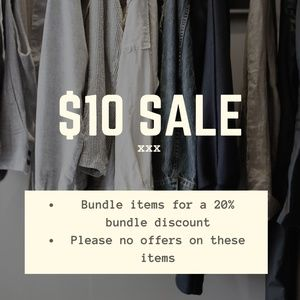 Other - $10 SALE
